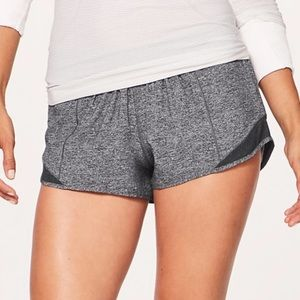 Lululemon Grey Hotty Hot Short 2.5""
